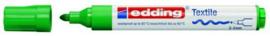 CE394500/0004- edding-4500 textielmarker 2-3mm punt groen
