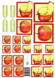 kn/1607- A4 knipvel Marjoleine appels -117141/1148