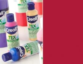 CE301900/0709- Creall Tex textielverf 80ML kersenrood