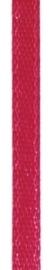 006302/0228- 4.5 meter satijnlint van 10mm breed op een rol magenta
