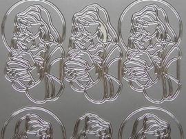 157- maria zilver 10x20cm