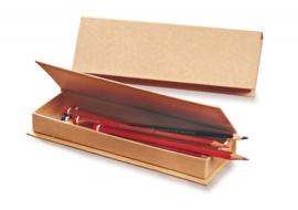 8735 761- 3 stuks ecoshape potloden doosjes 20x7x2.5cm