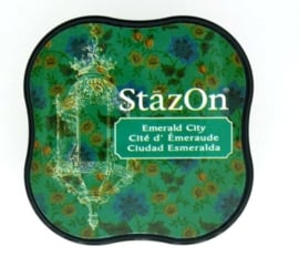 CE132021/4054- Stazon inktkussen midi emerald city SZ-MID-54