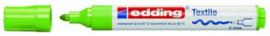 CE394500/0011- edding-4500 textielmarker 2-3mm punt lichtgroen