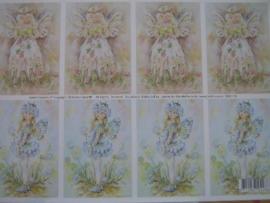 kn/125- A4 knipvel AANBIEDING fairy poppets 8