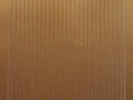263- randje smal recht koper kleur 10x20cm