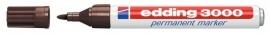CE393000/0018- Edding-3000 permanent marker met punt van 1.5-3mm donkerbruin