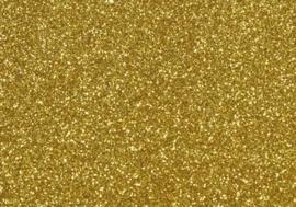 7904 274- magneetfolie 9x16cm goud met glitter
