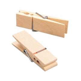 3060 014- 1 x  grote XL houten wasknijper van 70x20x13mm