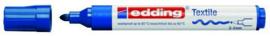 CE394500/0003- edding-4500 textielmarker 2-3mm punt blauw