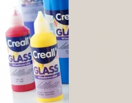 0-CE301801/0112- Creall Glass CONTOUR - glasstickerverf - window color - 80ML zilver