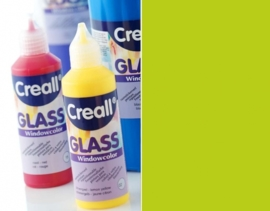 CE301800/0582- Creall Glass - glasstickerverf - window color - 80ML neon groen