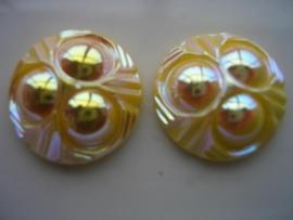 2 x glasstenen 25x9.5mm 5111-674