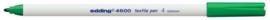 CE394600/0004- edding-4600 textielpen 1mm groen