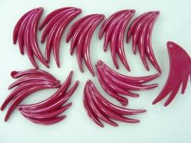 SLK.035- 10 stuks vleugeltjes rood van 3.6cm OPRUIMING