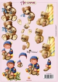 kn/309- A4 knipvel Art Coupure 117145/4005