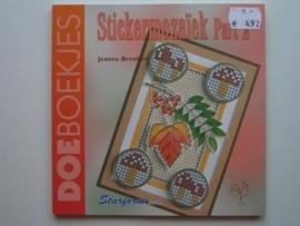 492- sticker mozaiek OPRUIMING BOEKJE