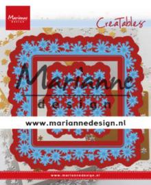 CE115639/4634 - Marianne design creatables - Sneeuwvlokkenrand