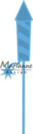 nr.-115639/4503- Marianne Design creatables vuurpijl