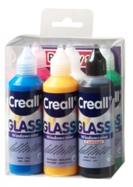 0-CE301800/0600- Creall Glass - glasstickerverf - window color - 6 x 80ML