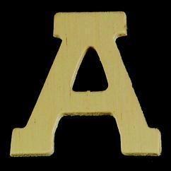 8735 606- 4cm houten letter A