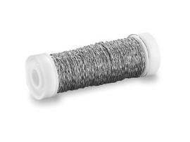 KN6437672- effect draad (bouillon) 0.30mm 50meter zilver