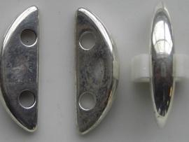 licht metalen verdeler 2 gats 30x10mm 117465/0637