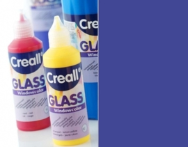CE301800/0535- Creall Glass - glasstickerverf - window color - 80ML blauw