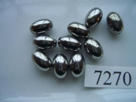 10 stuks licht metalen kralen van 11.5x7.5mm 7270