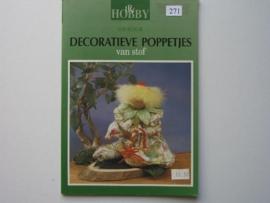 271- decoratieve poppetjes, OPRUIMING BOEKJE