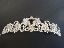 CH.096.10- prachtige luxe bruids tiara ornament van 24x5cm