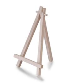 8735 412- FSC houten mini schildersezel van 9x17cm