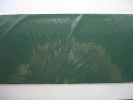 08157- 5 x luxe vierkanten kaarten linnenstructuur 13.5x13.5cm heel donker groen SPECIALE AANBIEDING