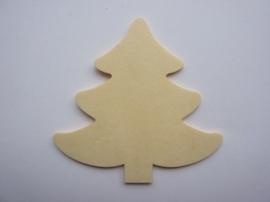 005998.E- houten kerstornament kerstboom van 2mm dik en ca. 7 cm. hoog -006888/2404