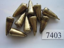 10 x kegel 17x7.5mm 7403