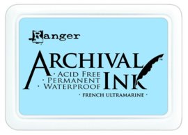 CE306010/0607- Ranger archival ink pad - french ultramarine