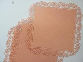 004013- 3 x scrapbook stansvellen 30.5x30.5cm roze decor OPRUIMING
