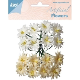 JOY6370/0068- 16 stuks artificial decoration flowers