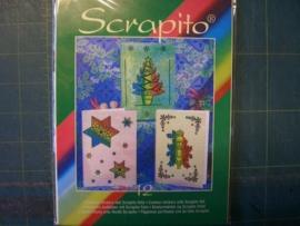 scrapito set kerst nr 12 OPRUIMING