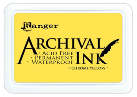 CE306010/0591- Ranger archival ink pad - chrome yellow