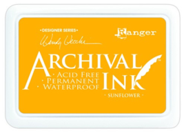 CE306014/9005- Ranger archival ink pad - sunflower