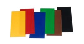 8308 100- 6 vellen kaarsen versierwas van 17.5x8cm en 0.5mm dik