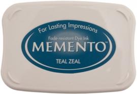 CE132020/4602- Memento inktkussen teal zeal