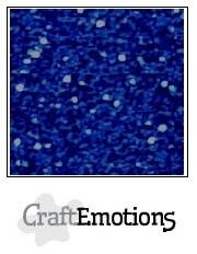 CE001290/0120- 5 vellen glitterpapier 120grams 29x21cm blauw