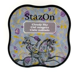 CE132021/4034- Stazon inktkussen midi cloudy sky SZ-MID-34