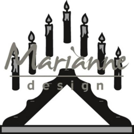 CE115639/1427- Marianne Design craftables candle bridge