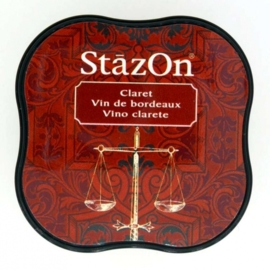 CE132021/4023- Stazon inktkussen midi claret SZ-MID-23