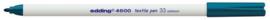 CE394600/0033- edding-4600 textielpen 1mm orientblauw