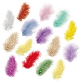 6619 991- 15 stuks verenmix maraboe pastel kleuren van ca.5cm
