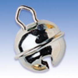 8605 416 - 5 stuks kattenbelletjes van 11 mm. zilver AA